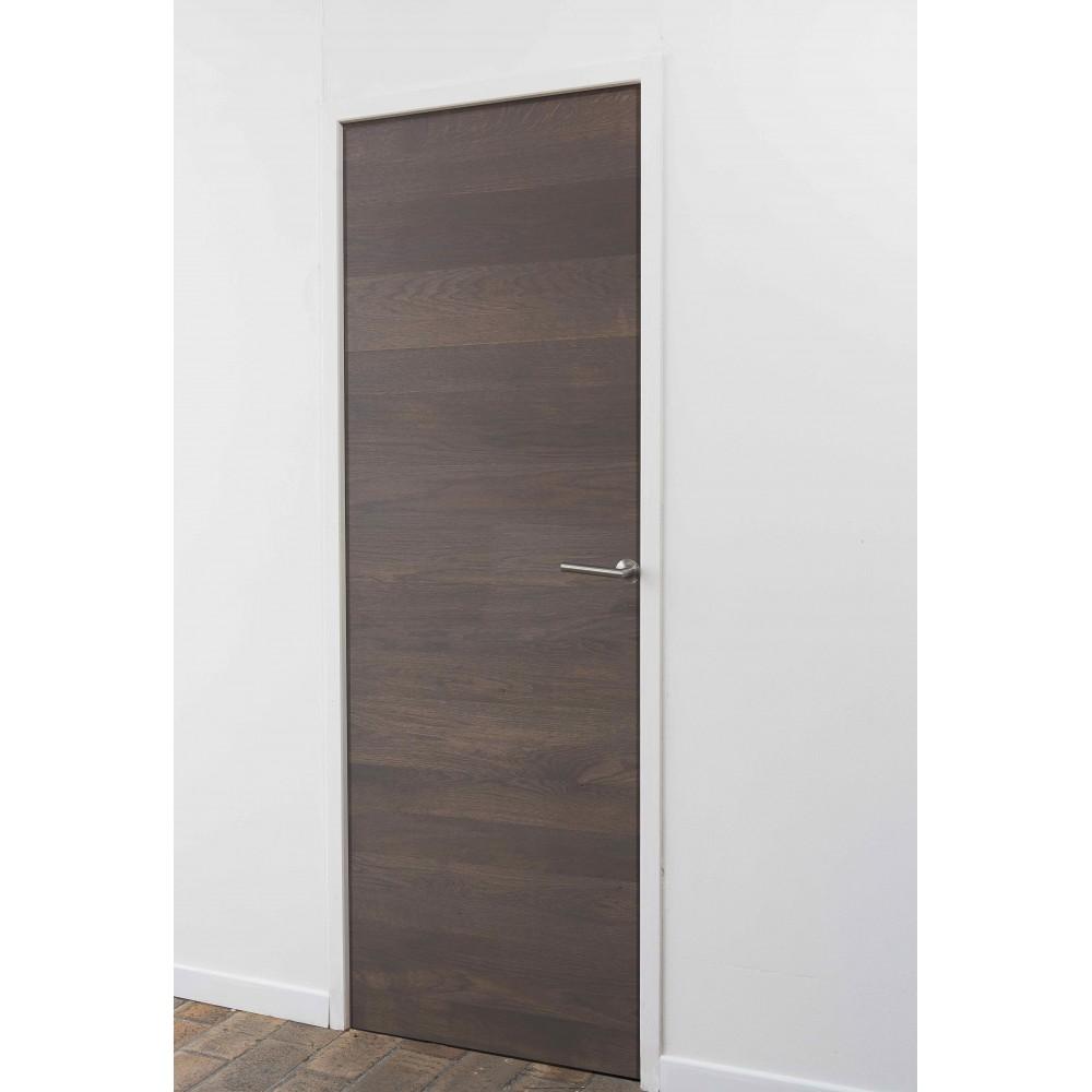 Stick 39 door ch ne finition gris b ton stickwood la for Hauteur de porte interieur