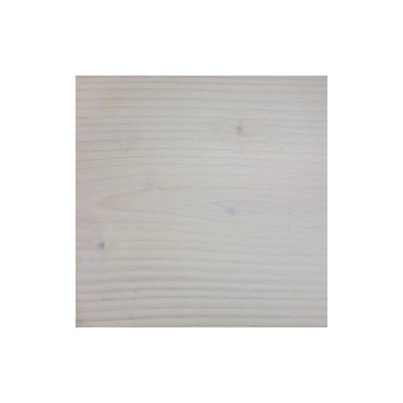 Epicéa rustique finition Blanchi Coton